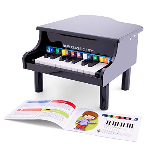 New Classic Toys - 10150 - Instruments de Musique - Piano À Queue En Noir de New Classic Toys