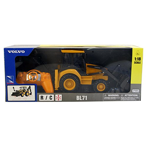 New Ray 87913 Une Radio Controlled Volvo Bl71 tractopelle de New Ray