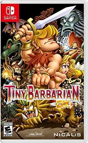 Tiny Barbarian Dx - Switch de Nicalis