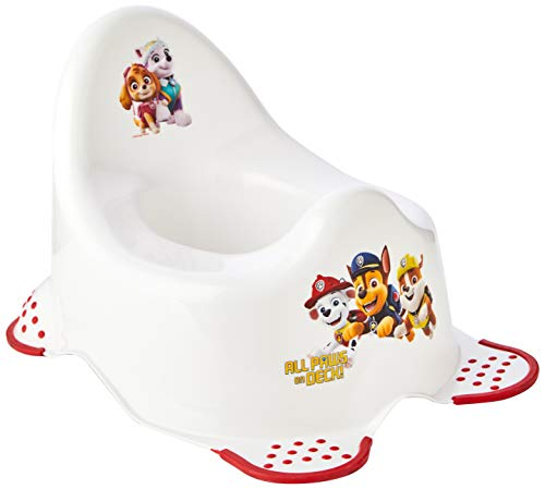 Nickelodeon Pot Paw Patrol Steady (Blanc/Rouge) de Nickelodeon