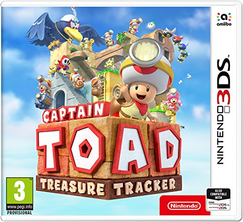 Captain Toad Treasure Tracker 3DS Game de Nintendo