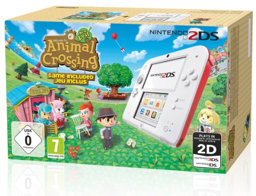 Console Nintendo 2DS - blanc & rouge + Animal Crossing : New Leaf de Nintendo