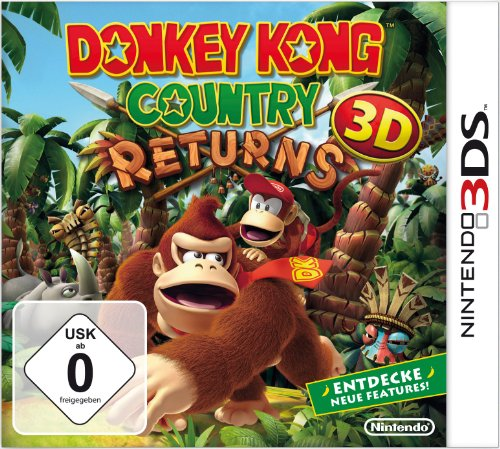 Donkey Kong Country Returns 3D de Nintendo
