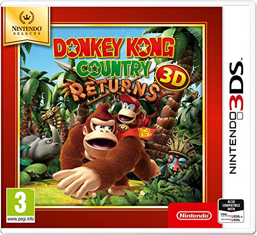 Donkey Kong Country Returns 3DS Game (Selects) de Nintendo