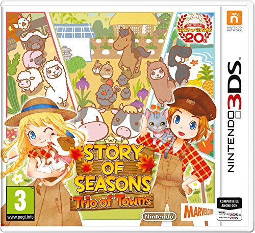 Giochi per Console Nintendo Story Of Seasons -Trio Of Towns de Nintendo