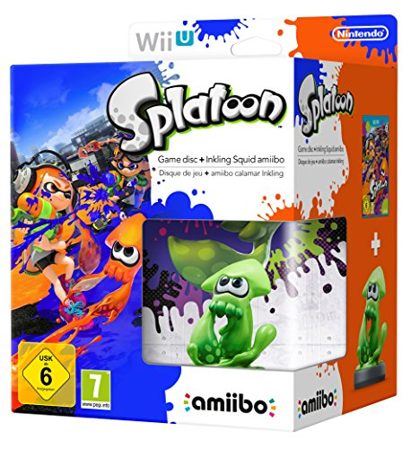 Splatoon + Amiibo 'Splatoon' - Squid de Nintendo