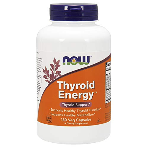 Thyroid Energy 180 vcaps de Now Foods