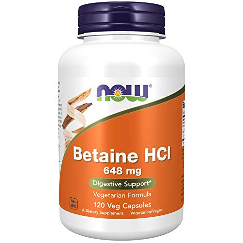 Now Foods Enzyme Digestive Betaine HCI de Now Foods