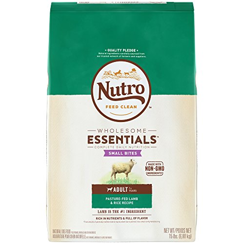 Nutro Natural Choice Lamb & Rice Recipe Small Bites Healthy Adult Dog Food 15lbs de Nutro