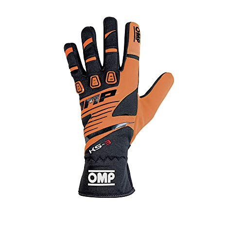 OMP ompkk02743e096s KS-3 Gants My2018 Orange/Noir Sz S de OMP