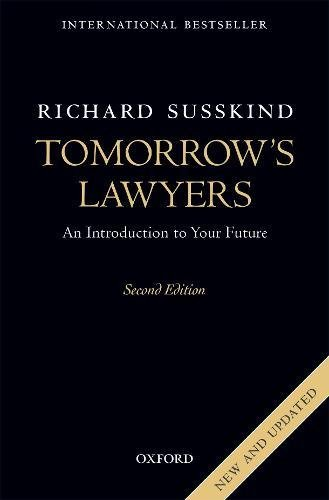 Tomorrow's Lawyers: An Introduction to Your Future de OUP Oxford