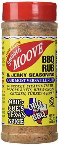 Obie-Cue 'Smooth Moove' BBQ Rub & Jerky Seasoning - 405g (14.3 oz) de Obie-Cue