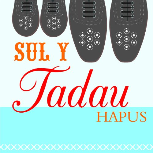 Claire Giles Hatful of Happy Welsh Father and Son Shoes Father's Day Card de OfficeCentre
