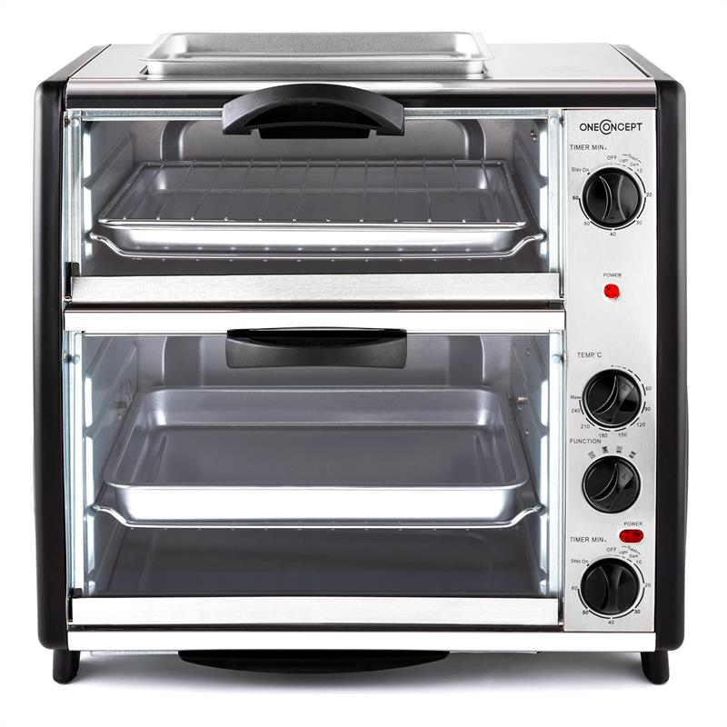[OCCASION] - oneConcept All-You-Can-Eat Four double avec grill 42 litres de OneConcept