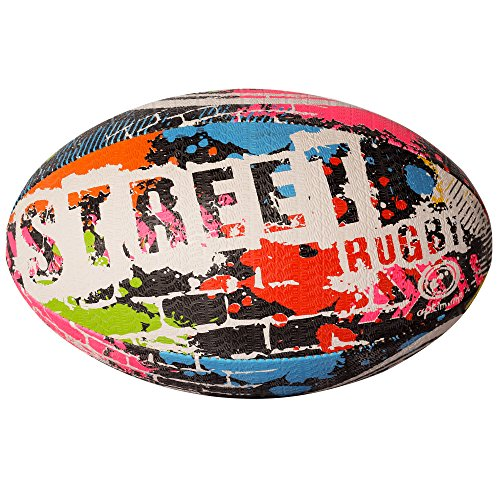 Optimum Street Rugby Ball-Multicolored, Taille 3 de Optimum