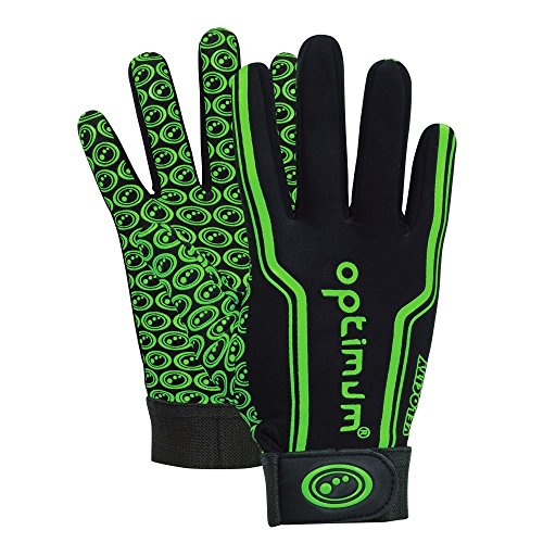 Optimum Velocity Gant thermal de rugby Vert Taille M de Optimum