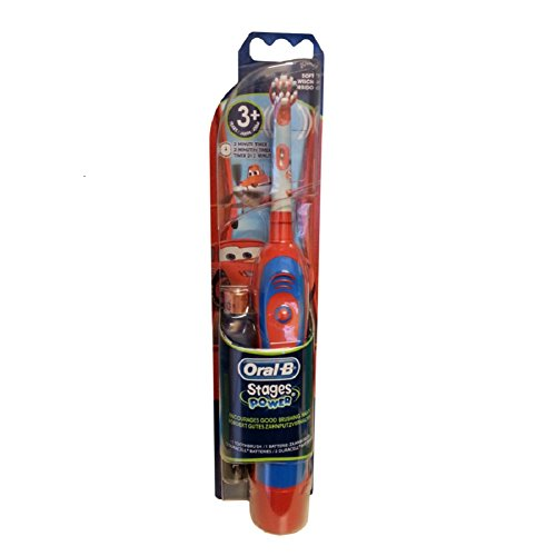 Braun Oral-B Advance Stages Power Kids Battery Toothbrush Disney Cars for 3+ by Oral-B de Oral-B
