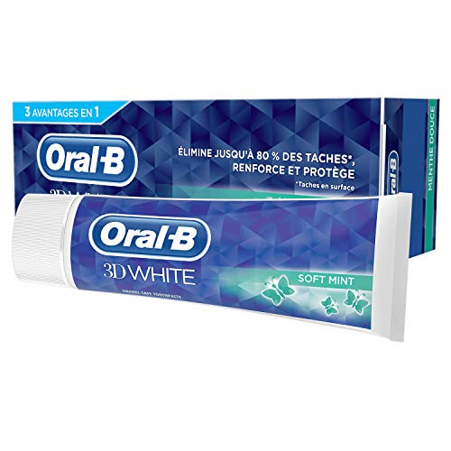 Oral-B 3D White Menthe Douce Dentifrice - 75 ml de Oral-B