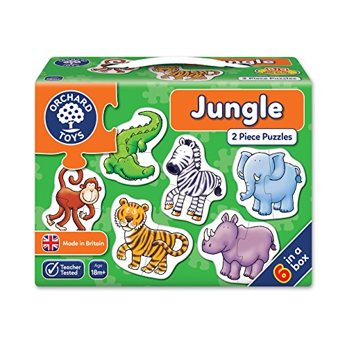 Orchard Toys - Puzzle Enfant - Animaux de la Jungle de Orchard Toys
