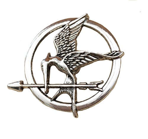 Orion Creations Hunger Games ton argent Katniss Mockingjay Broche/Pin de Orion Creations