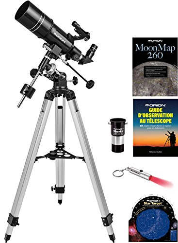 Kit de lunette astronomique EQ Orion Observer 80ST de Orion