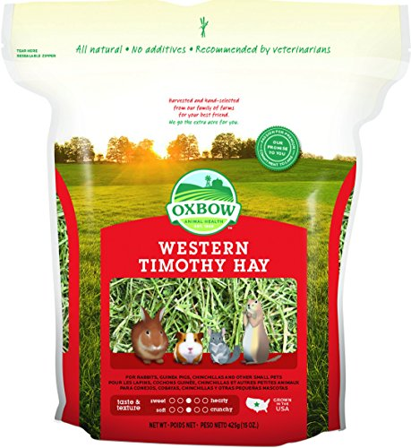 Feeds For Small Herbivores - Oxbow Western Timothy Hay 425g de Oxbow