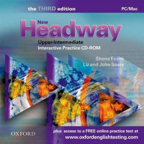 New Headway: Upper-Intermediate Third Edition: Interactive Practice CD-ROM: Six-level general English course de Oxford University Press