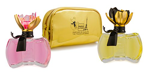 Coffret 2 Parfums femme Paris Elysees collection Petite Fleur + 1 pochette en cadeau de PARIS ELYSEES