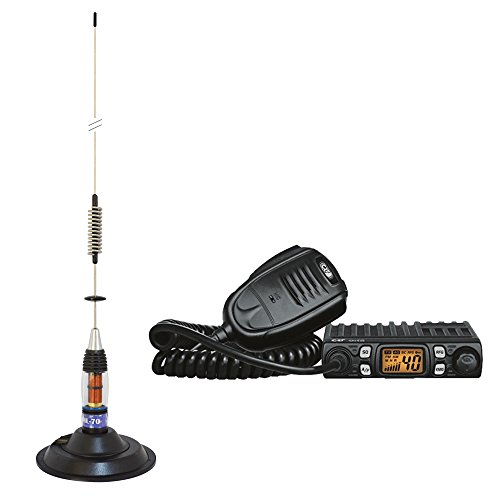 PNI PNI-PACK32 Kit Radio CRT One + CB ML70 antena Con Base magnética de PNI