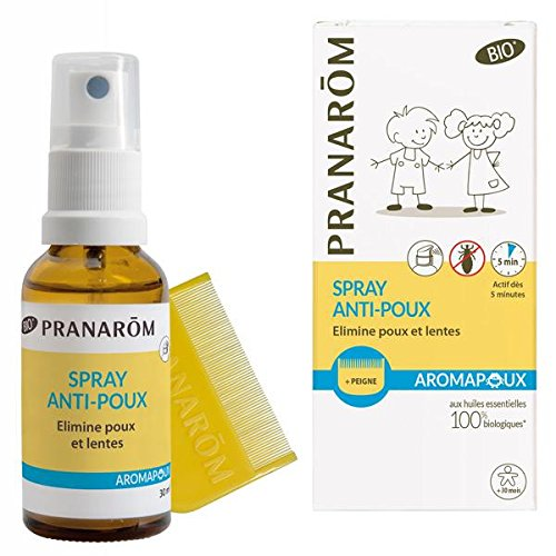PRANAROM - Aromapoux Spray Anti Poux - 30 ml de Pranarôm