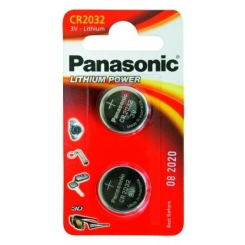 PANASONIC CR2032 BLISTER DE 2 AU LITHIUM 3V de Panasonic