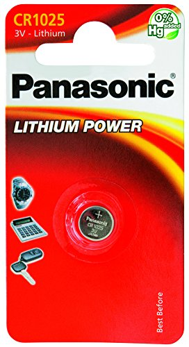 Panasonic CR-1025L/1BP Pile Bouton Lithium de Panasonic