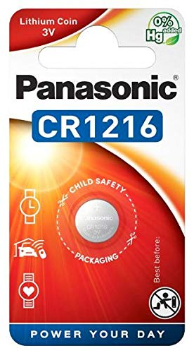 Panasonic CR1216 Lithium 3 v emballées sous Blister de Panasonic