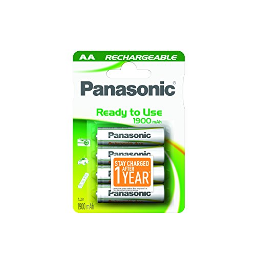 Panasonic Evolta Piles rechargeable AA 1900 mAh Multicolore de Panasonic