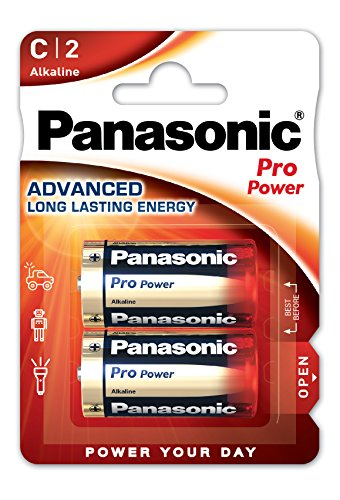 Panasonic Pro Pack de 2 Batteries Alcaline de Panasonic
