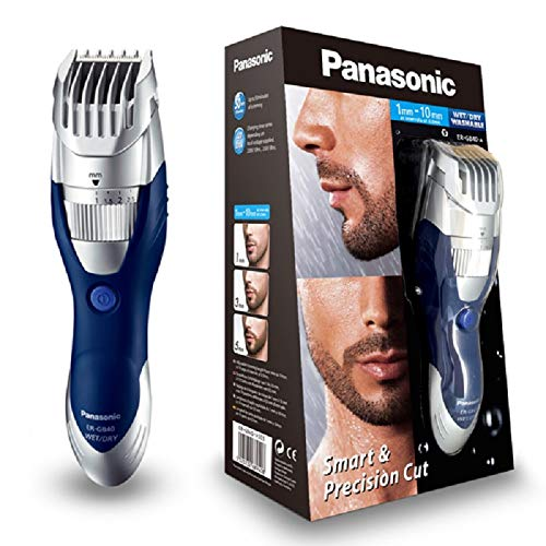 Panasonic Wet and Dry Hair and Beard Trimmer - Silver de Panasonic