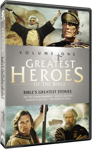 Greatest Heroes of The Bible: Volume One de Paramount
