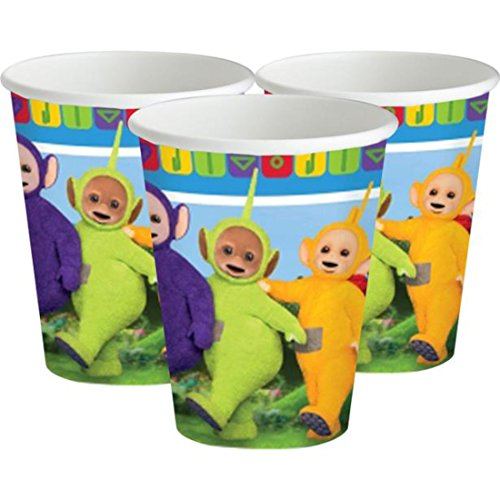 TELETUBBIES PARTY CUPS Brand New Range for of 8 by Party Stuff 4U Teletubbies Party de Party Stuff 4U Teletubbies Party