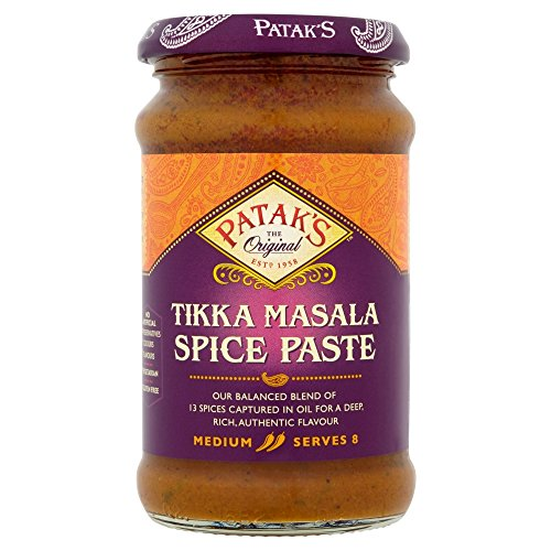 Patak's Tikka Masala Paste 283 g (Pack of 6) de Patak's