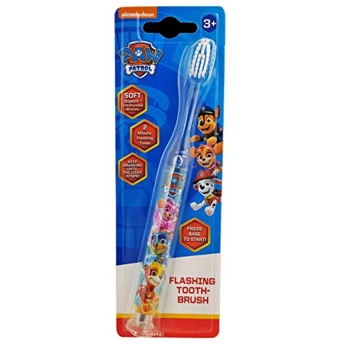 Paw Patrol Nickelodeon clignotant Brosse à dents de Paw Patrol
