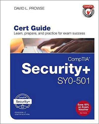 CompTIA Security+ SY0-501 Cert Guide de Que Corporation,U.S.