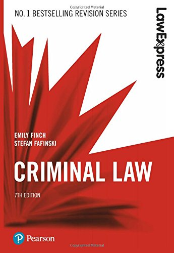 Law Express: Criminal Law de Pearson