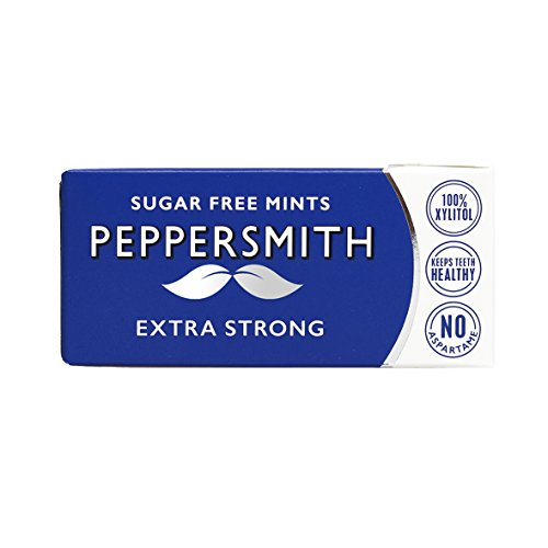 Peppersmith | Extra Strong Mints | 12 x 15g de Peppersmith