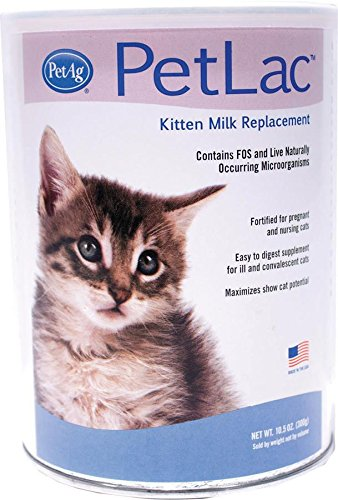 PetLac Milk Powder for Kittens, 10.5-Ounce by PetLac de Pet Ag