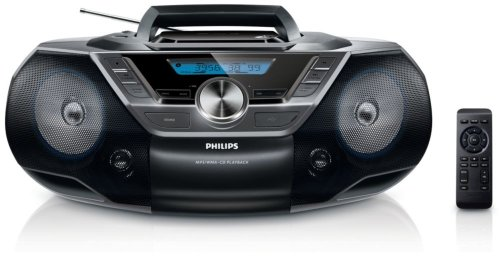 Philips AZ 780/12 /Radio-réveil Lecteur CD MP3 Port USB de Philips Audio