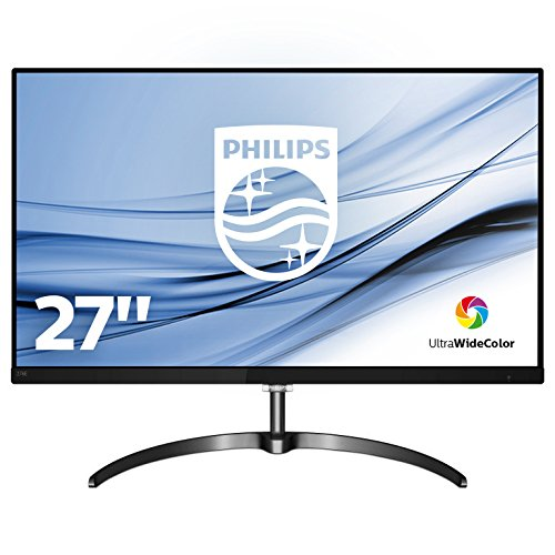 "Philips Moniteur LCD QHD avec Ultra Wide-Color 276E8FJAB/00 - écrans plats de PC (68,6 cm (27""), 2560 x 1440 pixels, LCD, 4 ms, 350 cd/m², Noir) de Philips"