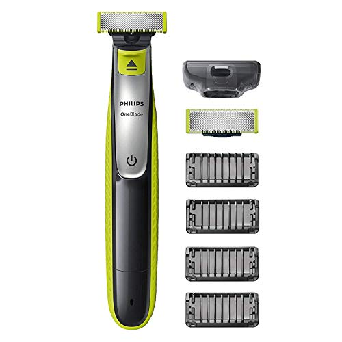 Philips QP2530/30 OneBlade avec lame de rechange + 4 sabots barbe de Philips