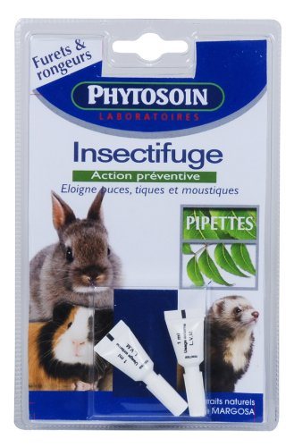 Phytosoin - 095010 - Pipettes Insectifuges Rongeurs - x 2 de Phytosoin
