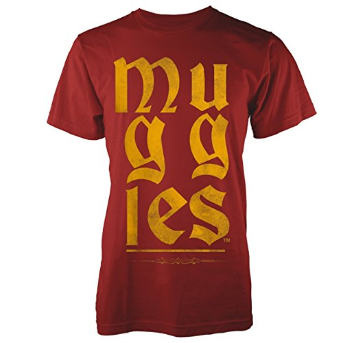 Plastic Head Harry Potter Muggles, T-Shirt Homme, Rouge-Rouge, XX-Large de Plastic Head
