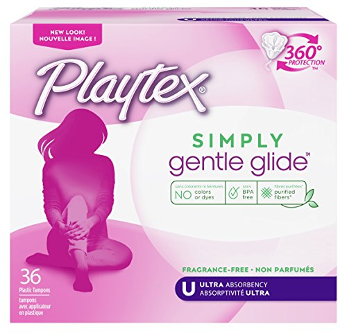Playtex Gentle Glide Ultra Tampons, Unscented - 36 ea by Playtex de Playtex